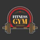 Logo for sport athletic club. Vector set sport emblems. Logo badges and labels, Fitness gym icon Stock Photography