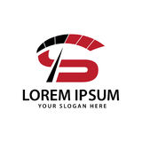 Logo sportif de l'initiale S Image stock