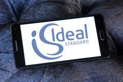 Logo standard ideale Fotografia Stock Libera da Diritti