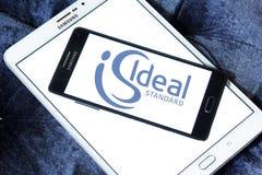 Logo standard ideale Immagini Stock