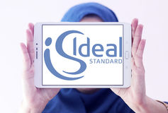 Logo standard ideale Fotografia Stock
