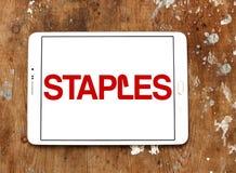 Staples brand logo royalty free stock photo
