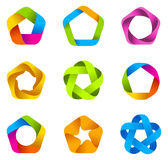 Logo star infinite Stock Images