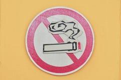 The logo of stop smoking Royalty Free Stock Photo