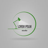 Logo studio Royalty Free Stock Photography