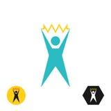 Logo of the stylized Royalty Free Stock Photos