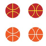 Logo su ordinazione di pallacanestro illustrazione vettoriale