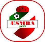 Logo soccer club vector illustration