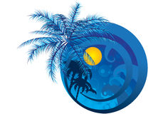 Logo for the summer Stock Image