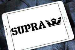 Logo supra de société de chaussure Image libre de droits