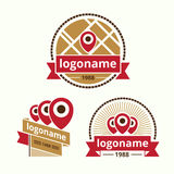 Logo sweets Stock Photography