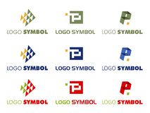 Logo symbol  Royalty Free Stock Photography