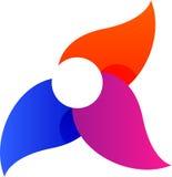 Logo Symbol abstracto para del ejemplo Imágenes de archivo libres de regalías