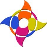 Logo Symbol astratto per dell'illustrazione Fotografie Stock Libere da Diritti