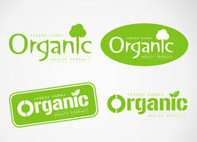 Logo and Symbol design Organic Royalty Free Stock Photography