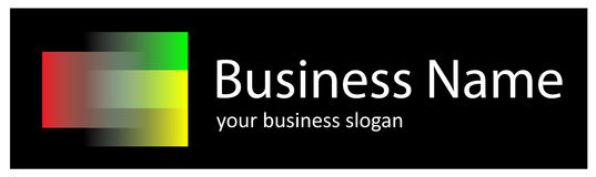 logo tęcza Obraz Stock