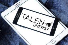 Talen Energy company logo. Logo of Talen Energy company on samsung mobile. Talen Energy is an independent power producer stock images