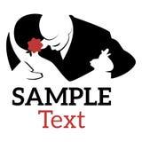 Logo Tango stock illustrationer