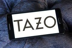 Tazo Tea Company logo. Logo of Tazo Tea Company on samsung mobile. Tazo Tea Company is a tea & herbal tea blender and distributor Royalty Free Stock Photography
