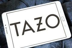 Tazo Tea Company logo. Logo of Tazo Tea Company on samsung tablet. Tazo Tea Company is a tea & herbal tea blender and distributor Stock Photography