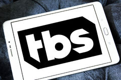 TBS TV channel logo Royalty Free Stock Photos