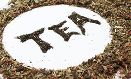 Logo of tea Royalty Free Stock Image