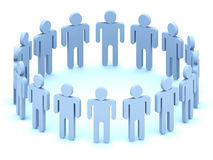 Logo Team of people royalty free illustration