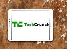TechCrunch technology company logo Stock Images