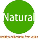 Natural image logo and desaign. This logo tells a healthy life, let`s keep our health because the cantic comes from inside our body Royalty Free Stock Images