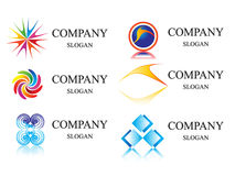 Logo_template. Business identity  logo template vector Stock Photography