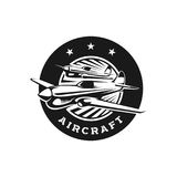 Logo Template aircraft formation Stock Photo