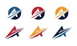 A Logo Template Stock Photo