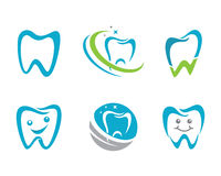 Logo Template dental Fotos de Stock