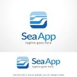 Logo Template Design Vector hexagonal abstrait, emblème, concept de construction, symbole créatif, icône Photo libre de droits