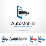 Logo Template Design Vector mobile automatique Image stock