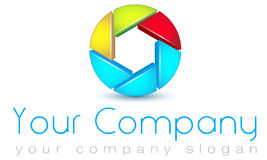 Logo template Royalty Free Stock Image