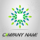 Logo template stock photography