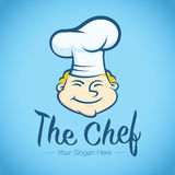 Logo Template Restaurant Chef Royalty Free Stock Image