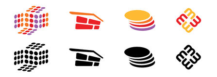 Logo Templates Stock Image