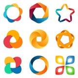 Logo templates set. vector illustration