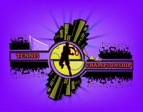 Logo tennis championship Royalty Free Stock Photography