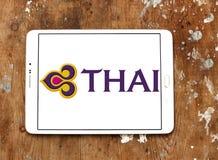 Thai Airways logo Stock Photography