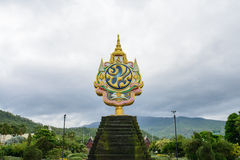 The logo of Thai king. The symbol of Thai king Royalty Free Stock Photography