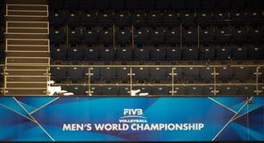 Logo of theWorld championship Royalty Free Stock Image