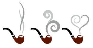 Logo tobacco tube. Stock Photography
