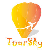 Logo tour sky Stock Images