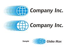 Logo - tourisme/courier/global Photos stock