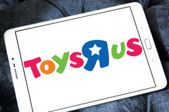 Toys R Us kids store logo Stock Image