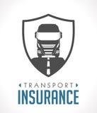 Logo - transport and logistics insurance Stock Photography