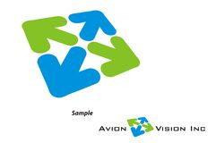 Logo - Travel/Tourism/Avaition Company Stock Image